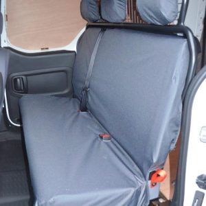 Peugeot Partner II Seat Covers – Crew Van Rear (2008-2018)