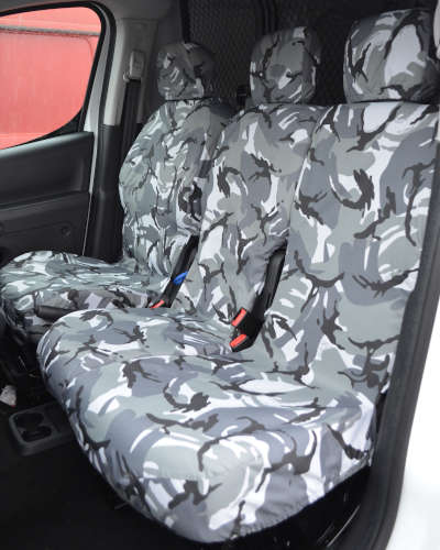 Partner Van Seat Covers Camouflage