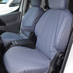 Peugeot Partner II Seat Covers – Single Front (2008-2018)