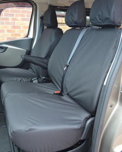 Seat Covers Vauxhall Vivaro Doublecab