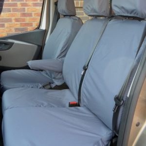 Vauxhall Vivaro Doublecab Seat Covers – Tailored (2014-2019)