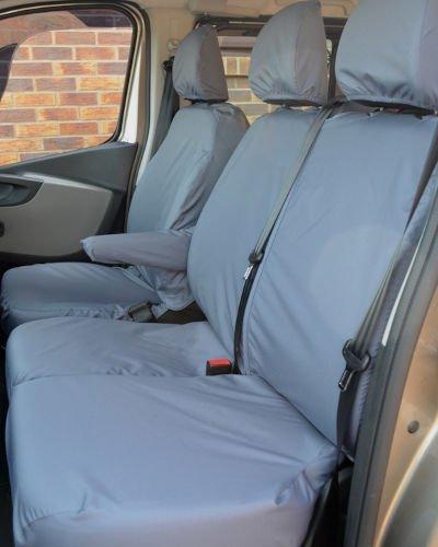 Seat Covers Vivaro Doublecab