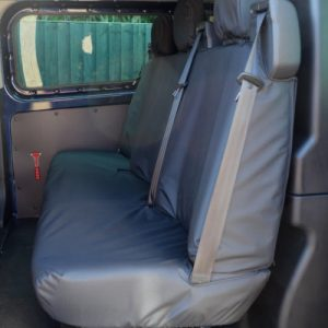 Ford Transit Custom Seat Covers – Double Cab Rear