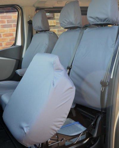 Vauxhall Vivaro Doublecab Seat Covers