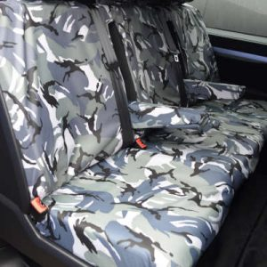 Vauxhall Vivaro Seat Covers – Doublecab Rear (2019 on)