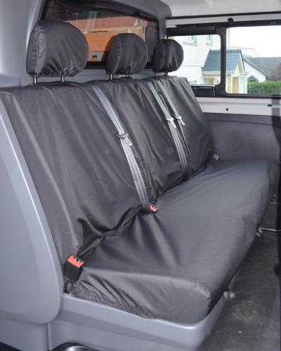 Vivaro 2nd Row Seat Covers