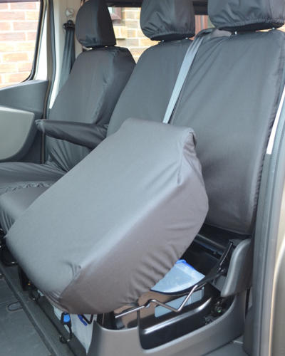 Vivaro Double Cab Tailored Seat Covers