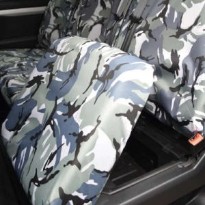Vauxhall Vivaro Seat Covers – Doublecab Rear (2019 on)
