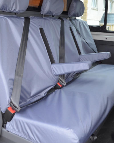Vivaro Doublecab Rear Seat Covers