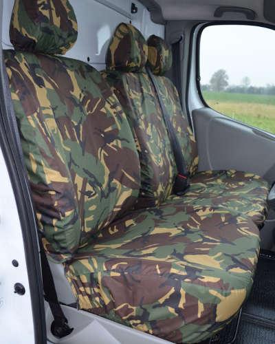 Camo Seat Covers for Vauxhall Vivaro