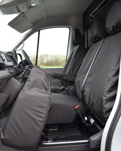MAN TGE Black Seat Covers