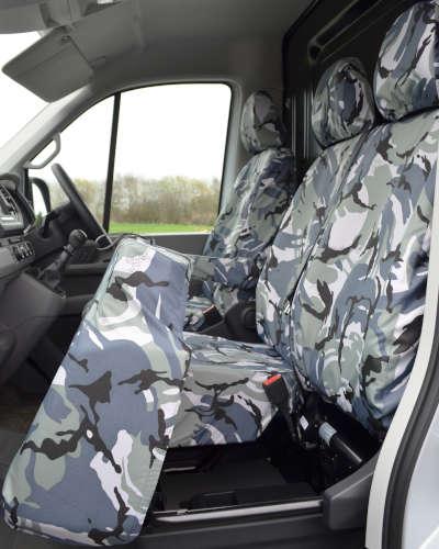 MAN TGE Camo Seat Covers