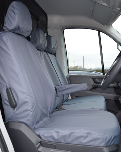 MAN TGE Grey Seat Covers