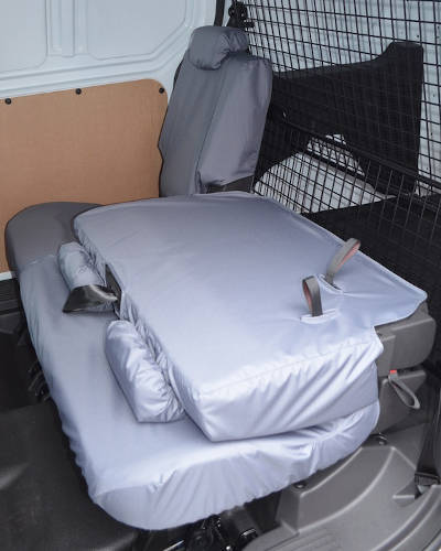 Rear Seat Covers for Ford Transit Connect Double Cab