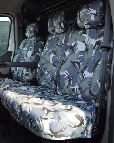 Renault Master Dual Seat Covers