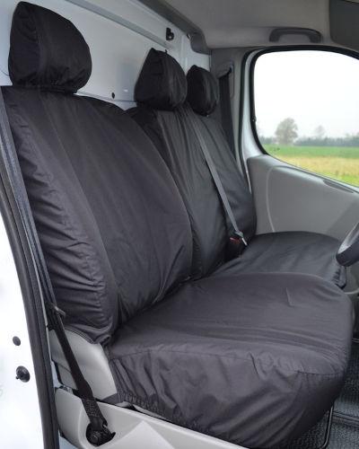 Seat Covers for Vauxhall Vivaro Mk1