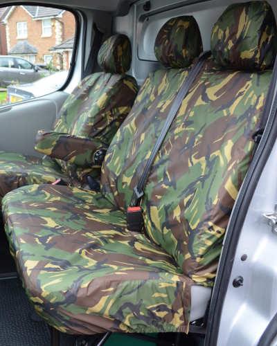 Seat Covers for Vauxhall Vivaro Van