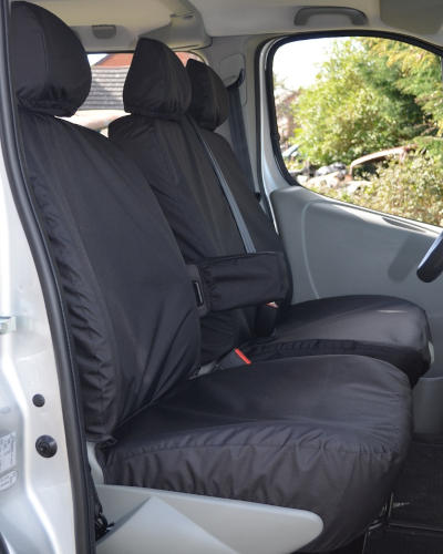 Tailored Seat Covers for Vauxhall Vivaro