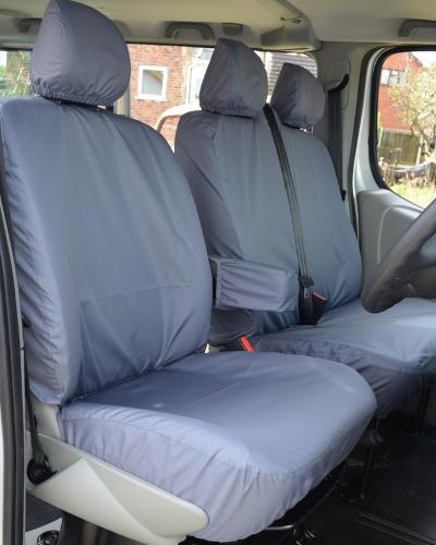 Waterproof Seat Covers for Vauxhall Vivaro