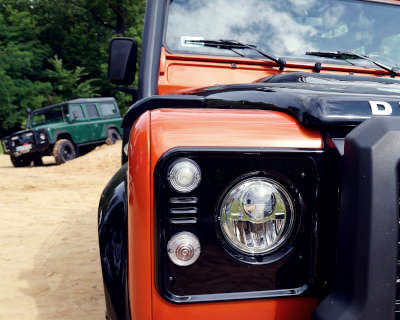 Land Rover Seat Covers - Defender
