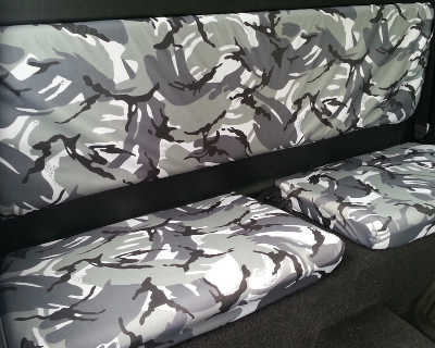 Pickup Truck Camouflage Seat Covers